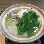 喰処 北洲 - 塩魚汁鍋(ハーフ)