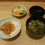 天ぷら新宿つな八 - ミニかき揚げ丼