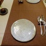 想いの木 - テーブルセッティング