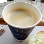 シーズマン・ベーカー - ホットコーヒー180円