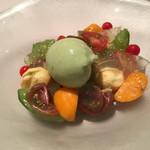 ミチノ・ル・トゥールビヨン - トマトの前菜