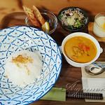 Cafe宙豆 - 料理写真:レッドカレー