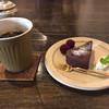 樂久登窯 - 料理写真:アイスコーヒー&濃厚ガトーショコラ