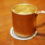 バー キュラソー - 酢橘のショートカクテル