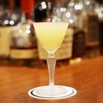 バー キュラソー - 酢橘のカクテル