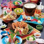富士甲羅本店八宏園 - 料理写真:【毛がにフェア】旬海