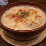 WINE&DINING ポルコロッソ - シーフードドリア(ランチ)980円ライスの食感とチーズとのバランスも良い