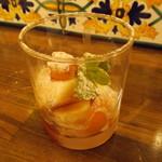アルヴェッキオ ドゥオモ - パンナコッタ季節のフルーツ添え