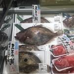 藤や食堂 - でっかいマトウ鯛。しかも安い