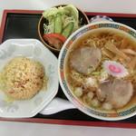 まつや - 料理写真:チャーハンセット750円