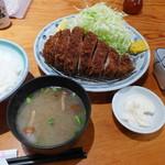 野風増 - とんかつ定食(1,500円)
