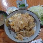 野風増 - カツ丼(1,200円)