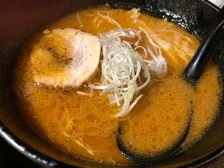 麺匠 竹虎 六本木店 - 虎ダレ 味噌ラーメン