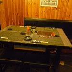 うの屋 - ☆テーブル席は2組分ありますね!(^^)!☆