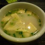 うの屋 - ☆白濁した鶏スープも香りが良いですね☆