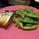 LOTUS - 焼き枝豆と鯖のスモーク