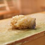 東麻布 天本 - 長万部ほっき貝