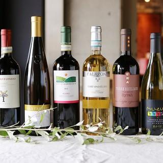 こだわりの超自然!イタリアのビオワインを原価度外視でご提供!
