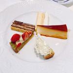 ポンドールイノ - ワゴンデザート ケーキ5種類をすべてオーダー