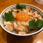 中華そばムタヒロ - 親子丼 ¥200