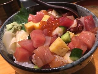 鮮魚・お食事処 山正 - ご飯の大盛は無料
