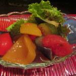 酣 - 夏野菜の揚げ浸し