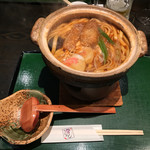 宮きしめん竹三郎 - みそ煮込みきしめん ¥1,150