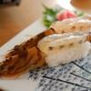 球屋 - 料理写真:活き車えび寿司 大物