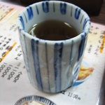 朝日屋 - お茶
