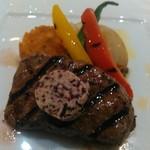 69472091 - サクラ肉のステーキ