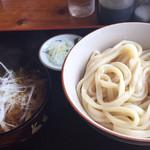 七福神 - ねぎ肉つけ麺 600g ¥750-