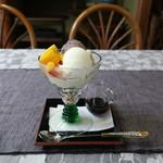 ひさご亭 - お豆腐パフェ