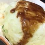 七津屋 - ポテサラには串カツソースを
