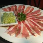 炭火焼肉ピカソ - 豚カルビ