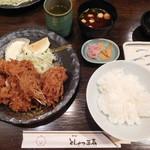 とんかつ三太 - 華定食¥1300-