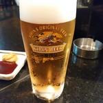 とんかつ三太 - 生ビール