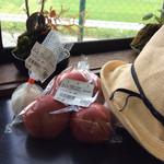 季楽 - トマト、ニンニク買いました