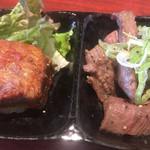 京城苑 - 角煮と塩焼