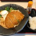 讃岐屋 - 冷やし坦々麺(汁なしに近し!^_^)
