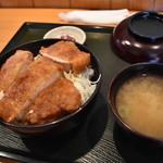 青い塔 - ソースかつ丼