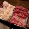 本格焼酎と炭火ホルモン焼き 新井家 - 料理写真:お好み4種盛り(ホルモンうまし!)