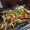 炭火焼鳥 鳥ぼん - 料理写真:ハラミともやし炒め