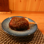葉隠亭 - 絹ごし豆腐の味噌ダレ