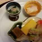 川端 - 前菜
