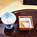 赤坂 詠月 - 鱧の卵と肝