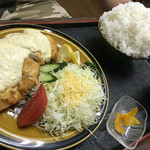 ダイアナ - 料理写真:チキン南蛮定食(ご飯大盛り)