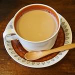 カルガモ コーヒー - カフェラテ