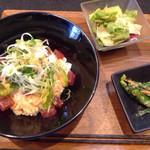 69480735 - マグロ&アボカド丼