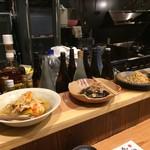 居酒屋 磯飯倶楽部 - 大皿料理は3種類で各350円