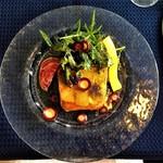 プチ・パピヨン - 前菜=2種のポテトとチーズのパテ
